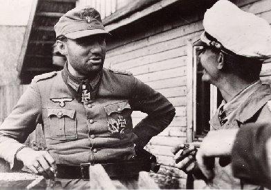 Теодор Тольсдорф на Восточном фронте. 1944 г.