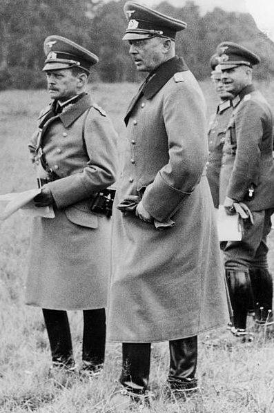 Вернер Фрич и Гюнтер Погрель. 1937 г.