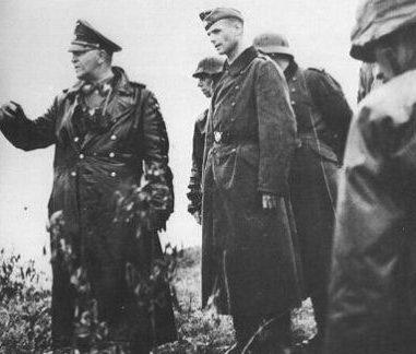 Карл-Адольф Холлидт на Восточном фронте. 1942 г.