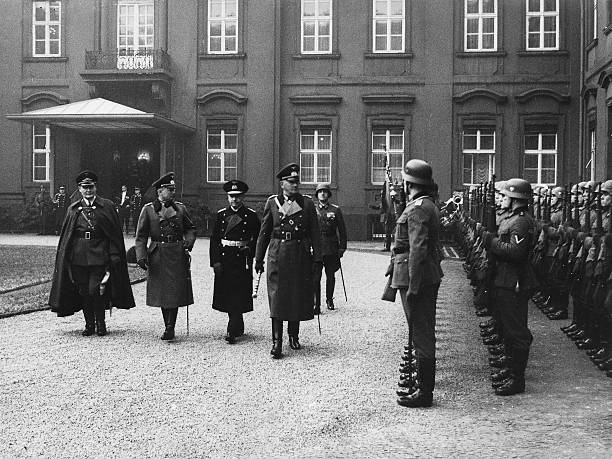 Вернер Фрич, Герман Геринг и Эрих Редер. 1937 г.