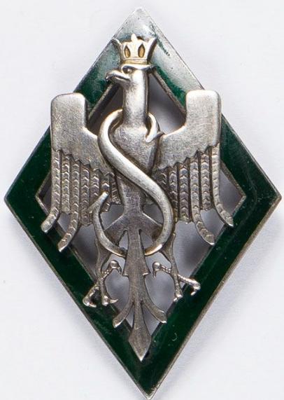 Аверс и реверс памятного знака 5-й польской (сибирской) стрелковой дивизии.