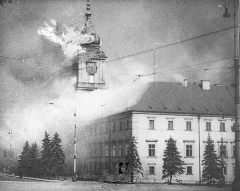Бомбардировка города. 17 сентября 1939 г.
