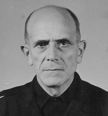 Карл-Адольф Холлидт в тюрьме. 1946 г.