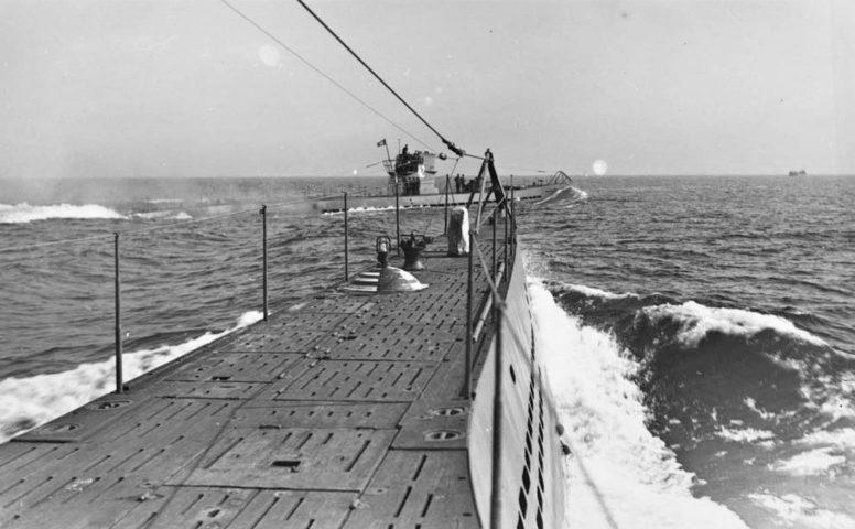 Подлодка «U-42» в море. 1939 г.
