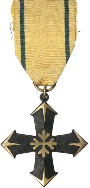 Аверс и реверс Креста кавалерийской бригады - Группа Ойнонен.