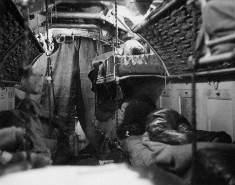 Торпедный отсек подлодки «U-7». 1939 г.
