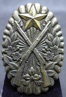 Квалификационный знак инструктора по стрельбе образца 1939 года. Вручался унтер-офицерам.