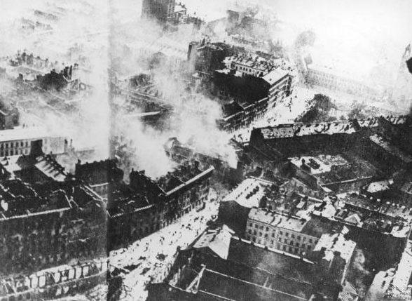 Разрушенный город. 24 сентября 1939 г.