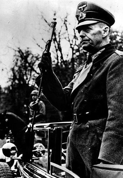 Герд фон Рунштедт. 1940 г.