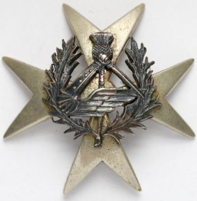 Аверс и реверс памятного знака 2-го танкового полка 1-го корпуса.