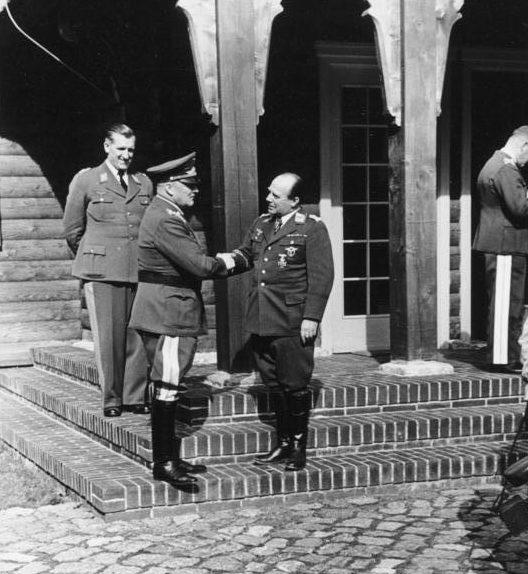 Эрнст Удет и Ганс-Юрген Штумпф. 1940 г.