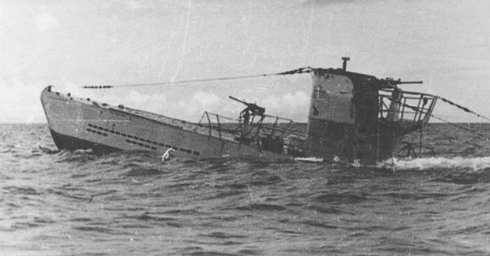 Всплытие подлодки «U-23». Черное море. 1942 г.