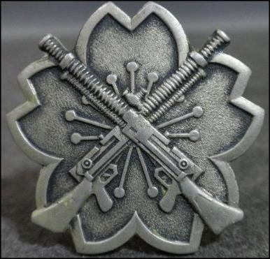 Аверс и реверс алюминиевого знака «За стрельбу из лёгких пулемётов».