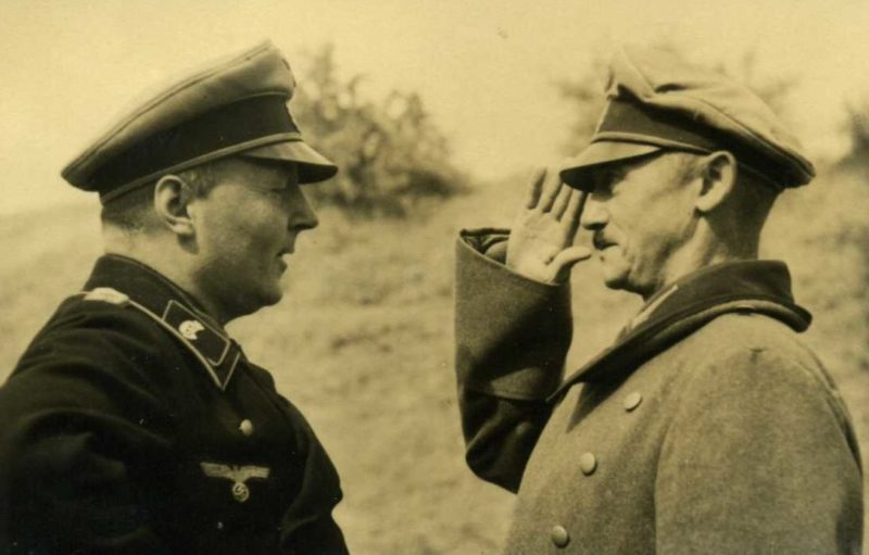 Ганс-Валентин Хубе. 1940 г.