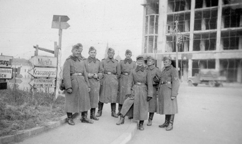 Первый месяц оккупации. Ноябрь 1941 г.