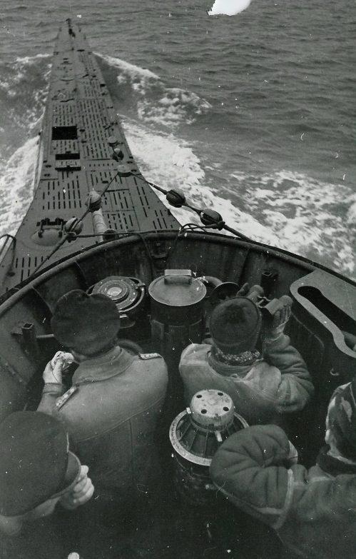 Подлодка «U-33» в море. Февраль 1940 г.