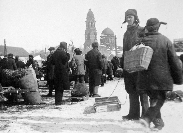 Зима в оккупации. Декабрь 1941 г.