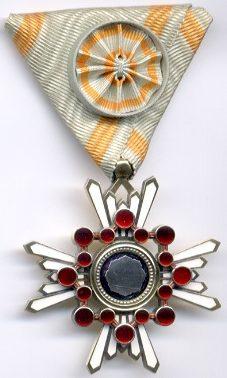 Орден Священного сокровища 4-й степени