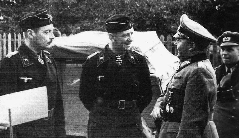 Ганс-Валентин Хубе на Восточном фронте. 1941 г.