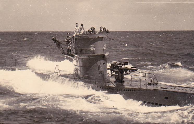 Подлодка «U-96» в море. 1942 г.