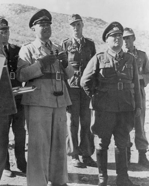 Ганс-Валентин Хубе в Италии. 1943 г.