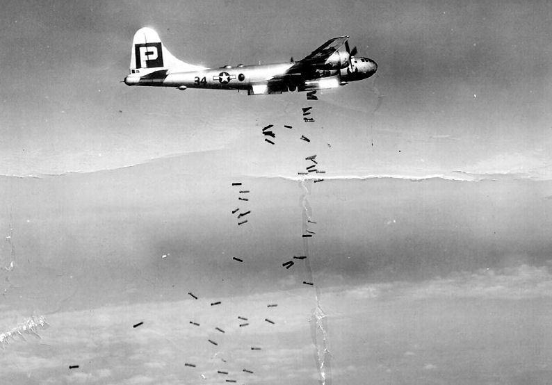 Первый массированный налет В-29 на город. 24 ноября 1944 г.