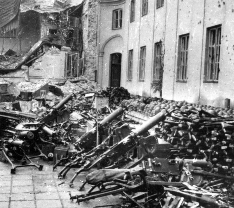 Польское оружие после капитуляции. Октябрь 1939 г.