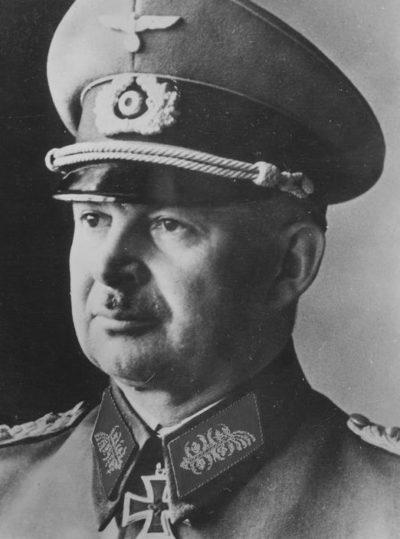 Курт Цейтцлер. Генерал-полковник.