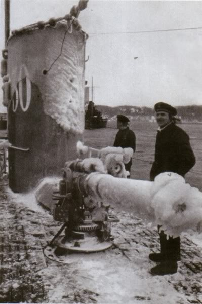 На палубе подлодки «U-30». Декабрь 1940 г.