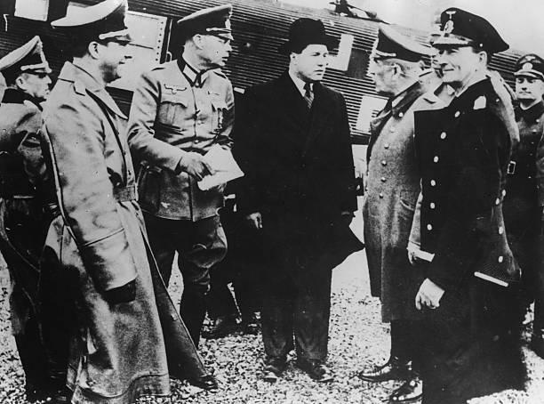 Николаус Фалькенхорст в Норвегии. 1940 г.
