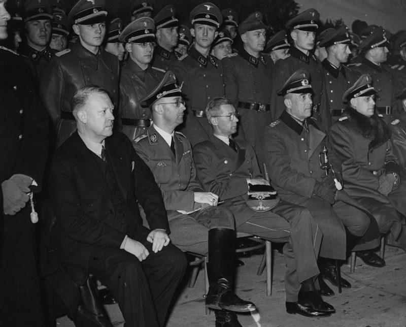 Николаус Фалькенхорст в Норвегии.1941 г.