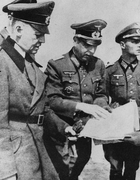 Герд фон Рунштедт на средиземноморском фронте. 1944 г.