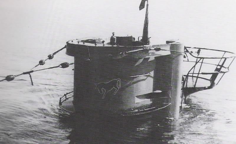 Погружение подлодка «U-77». Февраль 1943 г.