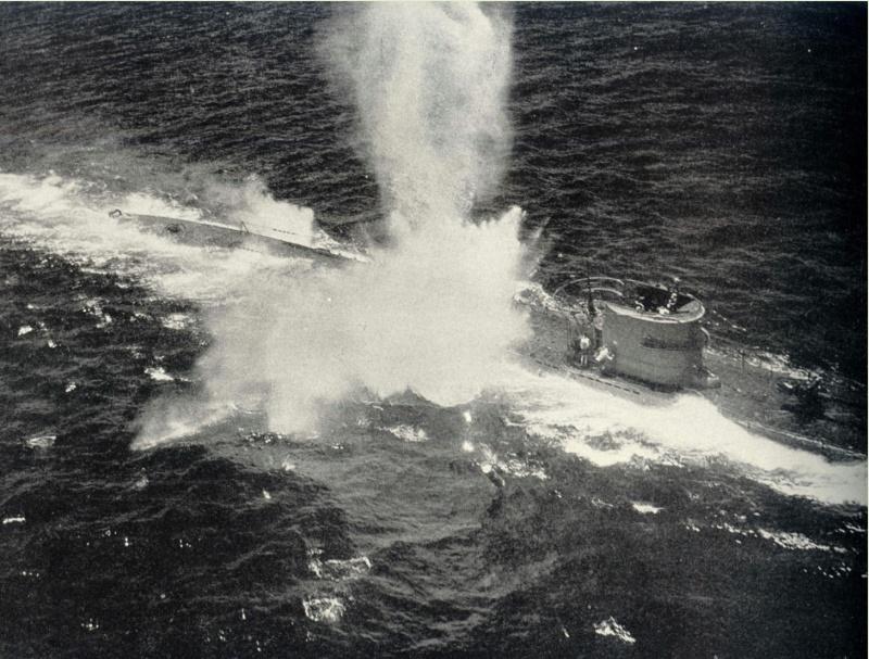 Гибель подлодки «U-156». Март 1943 г.