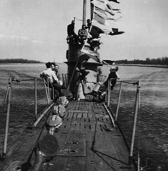 Подлодка «U-5» уходит в последний поход. Март 1943 г.