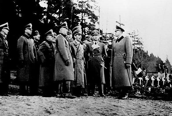 Николаус Фалькенхорст в Норвегии. 1942 г.