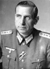Германн Ферч. Генерал-майор.