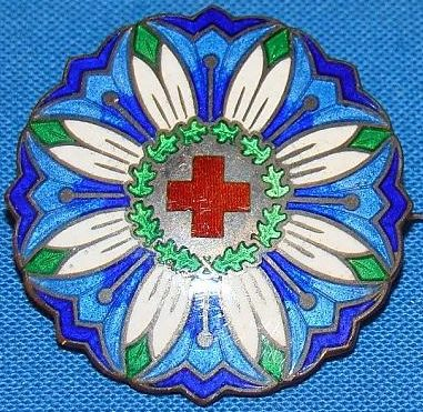 Наградные знаки Красного Креста для сотрудников.