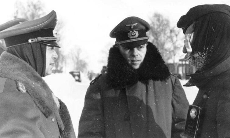 Рихард Руофф и Ханс Роттигер. 1941 г.