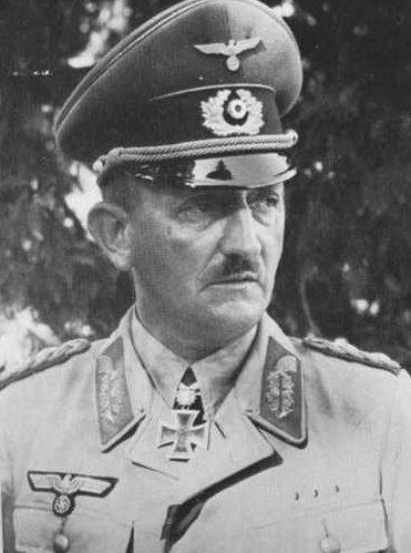 Генрих Фитингхоф. Генерал-полковник.