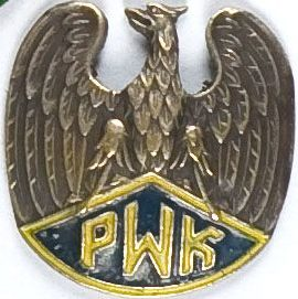 Памятный знак корпуса военной подготовки женщин.