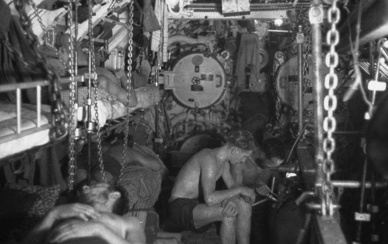 В торпедном отсеке подлодки «U-107». Июнь 1941 г.