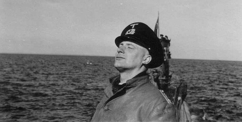 Ганс Фридебург на подлодке U-35. 1939 г.
