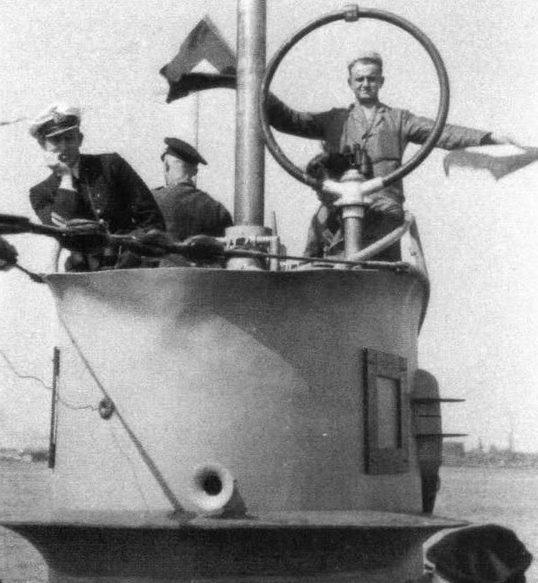 Подлодка «U-121» на учениях. Пилау. Июнь 1941 г.