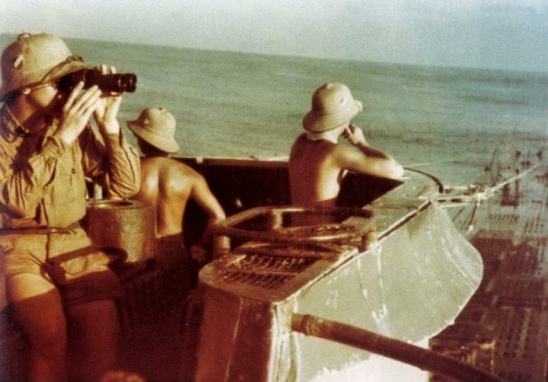 Подлодка «U-177» в водах южной Атлантики. Июль 1943 г.