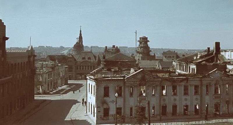 Квартал у Благовещенского собора. Лето 1942 г.