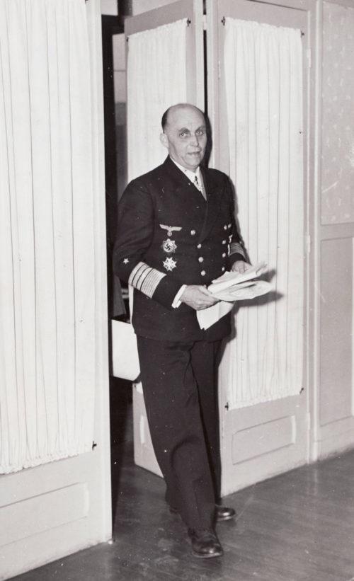 Ганс Фридебург. 1940 г.