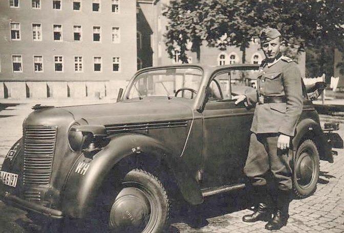 Немецкий офицер. Лето 1942 г.
