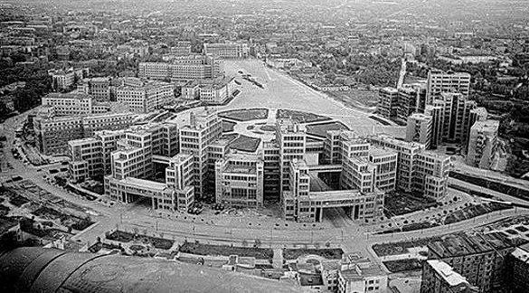 Здание Госпрома. Лето 1942 г.