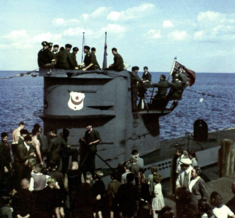 Подлодка «U-403» в порту Данцига. Июль 1941 г.